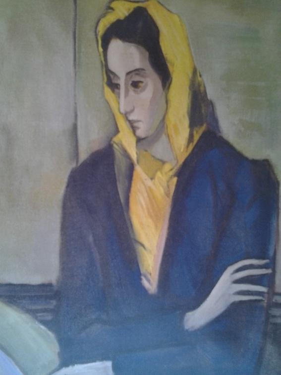 Nicolas de Staël Portrait de Jeannine