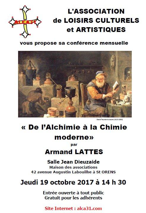 Affiche Alchimie