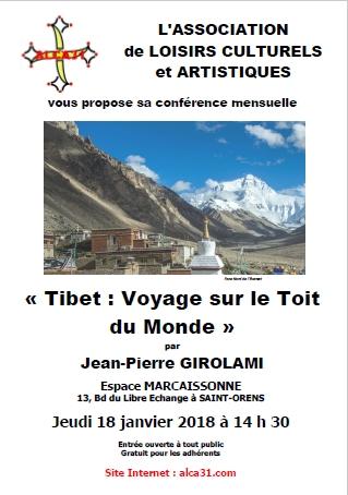 Affiche Tibet
