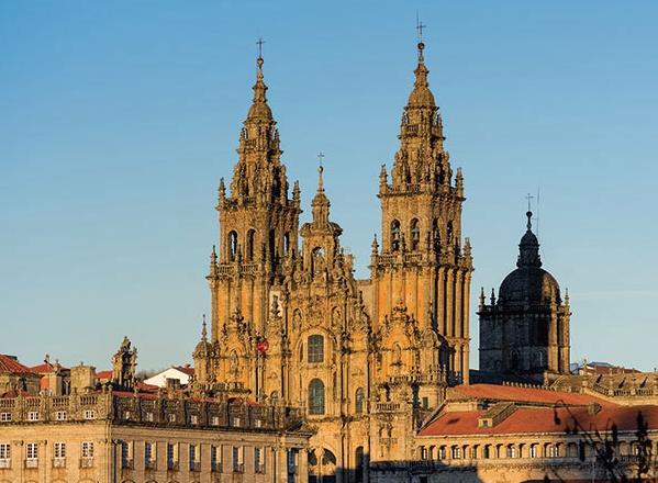Compostelle cathédrale